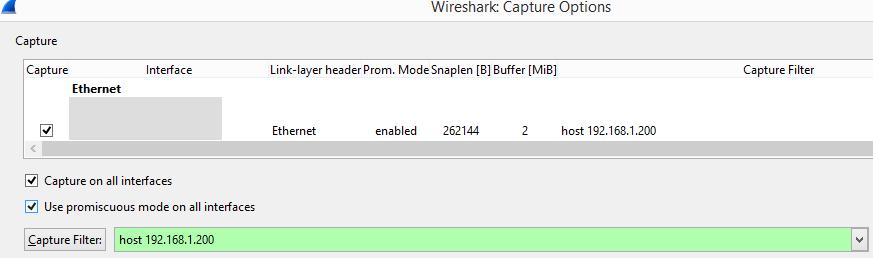 Packet Capture Basics
